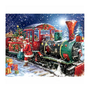 5D DIY Diamond Painting Christmas Santa Claus Train Rhinestone Cross Stitch Diamond Embroidery Christmas Gift