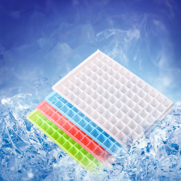 60--96 Grids DIY Plastic Ice Maker Tiny Ice Cube Trays Mold For Kitchen Bar Party Drinks,Free Shipping.