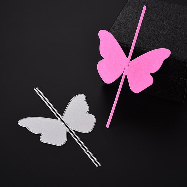 ABOOM Hot Sale Cute Butterfly Cutting Dies Stencil For DIY Scrapbooking Photo Album Decorative Embossing DIY Paper Cards Die Cut