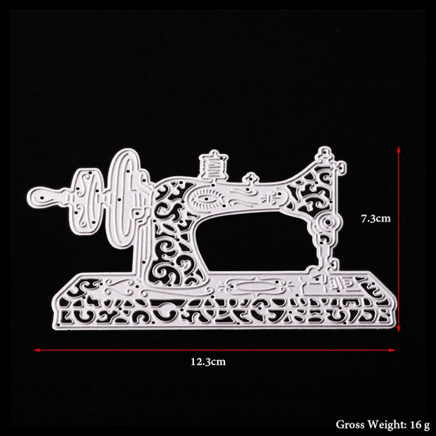 ABOOM Hot Sewing Machine Metal Cutting Dies For Scrapbooking Stencils DIY Album Cards Decoration Embossing Folder Die Cuts Mold