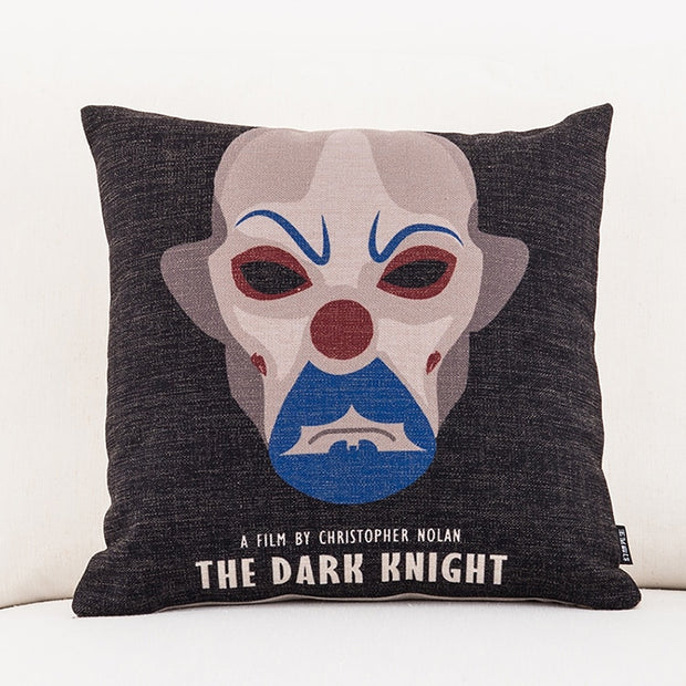 American Style Film Surrounding Square Pillowcase Batman Superhero Printed Cushion Decorative Pillow Home Decor Throw Pillow