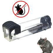 Auto Lock Pedal Switch To Set Reusable No Kill Bait Powerful Mouse Trap Rodent Repeller Rat Safe Humane Rat Catching