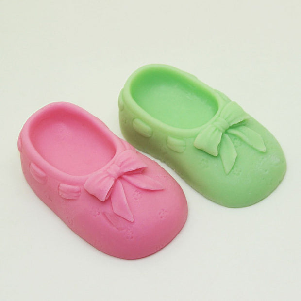 Baby Boy Girl's Shoe Shape Sandals Silicone Fondant Soap 3D Cake Mold Cupcake Jelly Candy Chocolate Decoration Baking Tool Mould