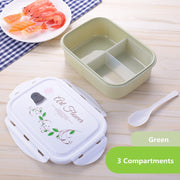 Green 3 compartments