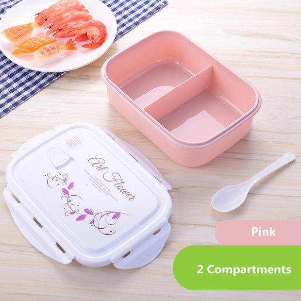 Pink 2 compartments