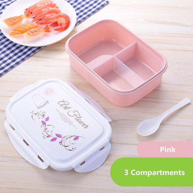 Pink 3 compartments