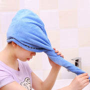 Bath Towel Lady Hair Dry Quick Drying Microfiber Towels Bathroom Soft Quick-drying Women Hair Cap Household