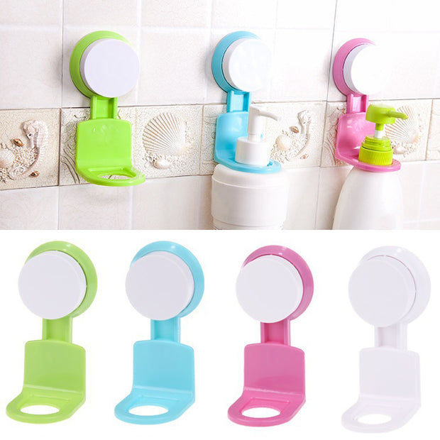Bathroom Wall Rack Hooks Stand Sticky Wall Hooks Home Strong Suction Cup Seamless Wall Hanger Powerful Suction Cup Hanger