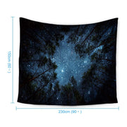Beautiful Galaxy Wall Tapestry Home Decorations Wall Hanging Forest Starry Tapestries Moon Constellation For Living Room Bedroom