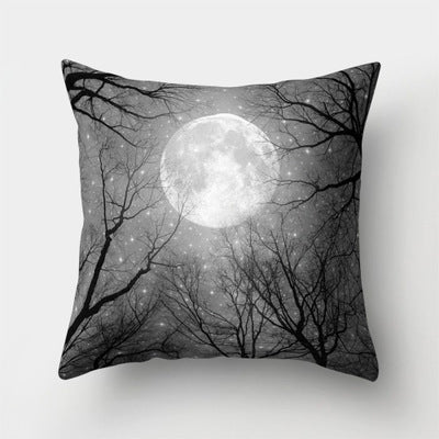 Beautiful Night Starry Sky Stars Shining Pillowcases Dreamy Galaxy Fantasy Universe Pillow Cover Throw 45*45cm Christmas Gifts