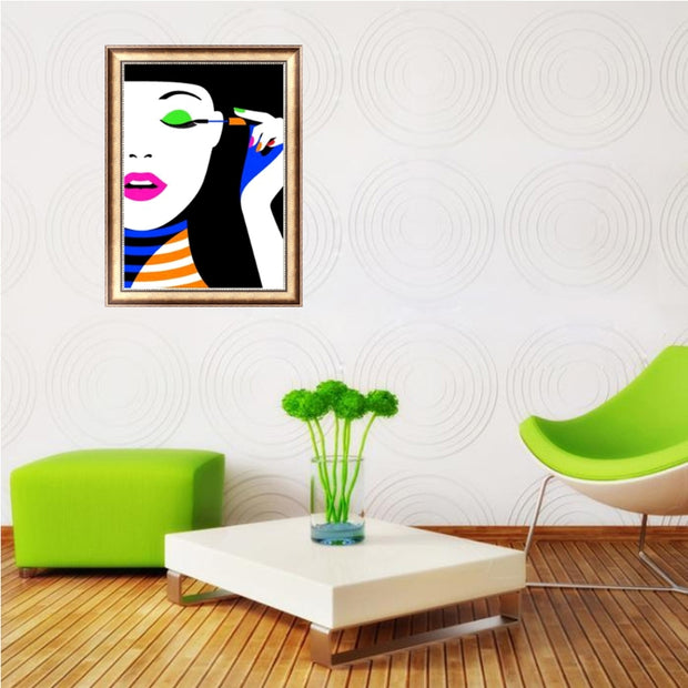 Beauty Girl Diamond Embroidery 5D Diamond DIY Painting Cross Stitch Home Decor