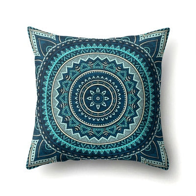 Bohemia Colorful Printed Pillow Cases Polyester Nostalgia Design Pillowcase Seat/bed Throws Pillow Covers 45*45cm