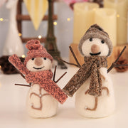 CARRYWON Christmas Snowman Toy Window Table Party Christmas Decorations For Home Christmas Tree Decorations Gift