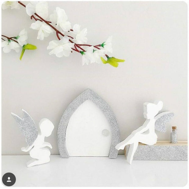 Cartoon Angel Wall Decorate Children Room Wooden Clothes Hook For Kids Room Eco Friendly Hanger Creative Home Decor DIY 1PC