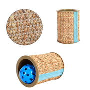 Cat Scratcher Sisal Toys Scratch Post Balls Sound Toys For Kitten Cats Fun Supplies Protector Cat Gripper Toy