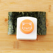 Cat Shape Rice Mold Onigiri Maker Mold Sushi Mold With Roasted Seaweed Embossers DIY Kitchen Tool Set