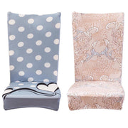Chair Cover Elastic Slipcovers Modern Minimalist Chair Covers Home Style Banquet Dining Chair Seat Covers Universal Chair Cover