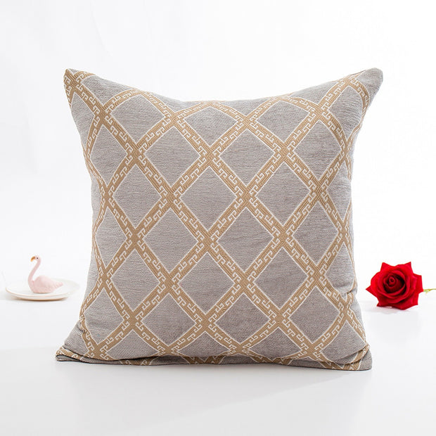 Chenille Square Pillow Cover Cushion Case Toss Pillowcase Hidden Zipper Closur Pillow Case Decorative Wholesale