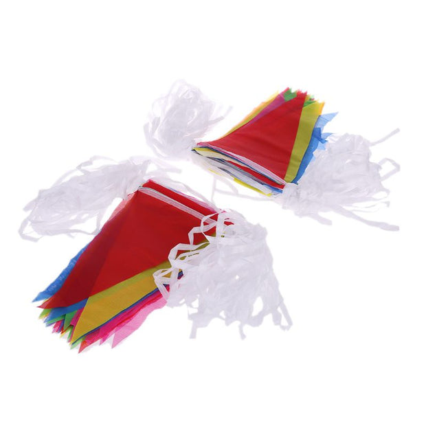 Colorful 80m Flag Pennant Bunting String Banner Garland Festival Party Holiday Decor
