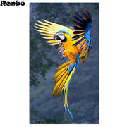 Colorful Birds Diamond Painting Full Square Diamond Embroidery Sale 5D Diy Diamond Mosaic Painting 3d Cross Stitch Needlework