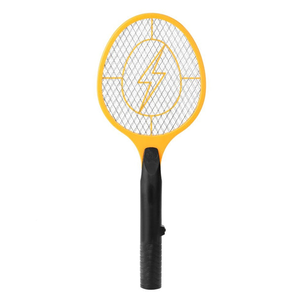 Battery Power Electric Fly Mosquito Swatter Bug Zapper Racket Insects Killer^