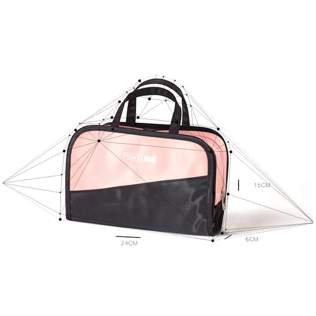6f0774a91a3f Cosmetic Bag And Case Portable Carry Travel Toiletry Bag Clear ...