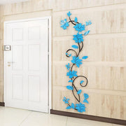 Creative Home Decoration Floral 3D Stereo Design, Unique And Beautiful. Wall Modern Sticker