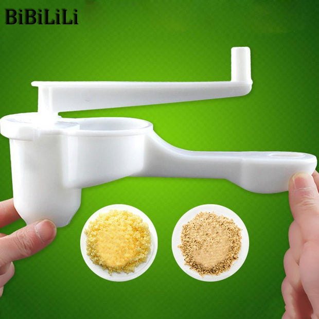 Crusher Garlic Ginger Handle Grinder Presser Cutter Chopper Kitchen Gadget Tool