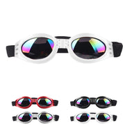 Cute Mini Fashion Dog Foldable UV Anti-Scratch Pet Sun Glasses Eye Wear Protection For Travel Skiing Driving