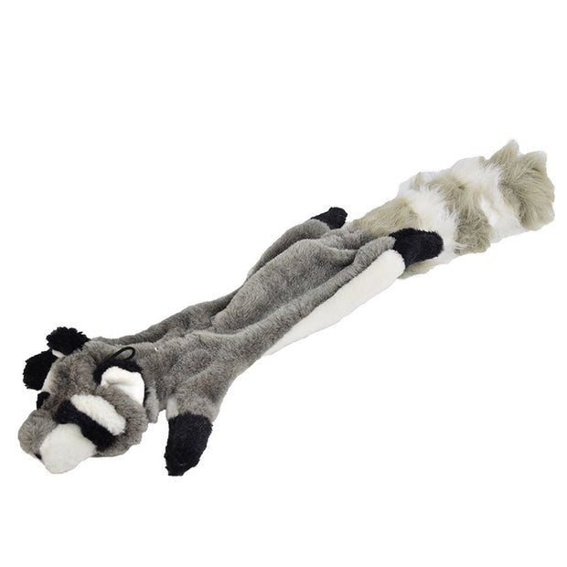 Cute Pet Toys Stuffed Squeaking Animals Plush Fox Antelope Squirrel For Dogs Chew Squeaker Squeaky Dog Toys