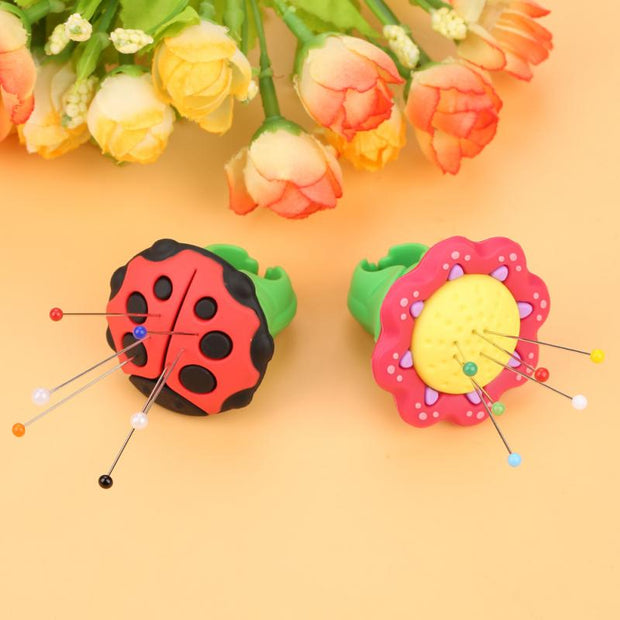 Cute Shape Sewing Needles Rubber Pin Cushion Storage Holder For Handmade Needle Insertion Craft Tool