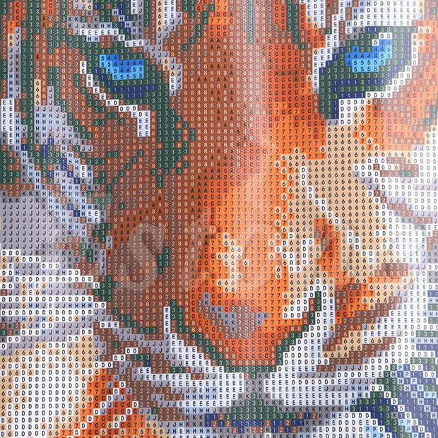 DIY 5D Chic Tiger Stitch Kit Diamond Embroidery Painting Cross Stitch Home Decor Craft
