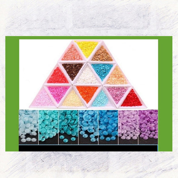 DIY 5D Diamond Painting Embroidery Cross Craft Stitch Art Kit Home Wall Decor