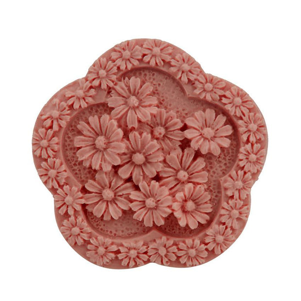 DIY Flower Daisy Shap Silicone Mold Handmade Soap Cake Decoration Silicone Mold Cold Soap Candle Silicone Mold