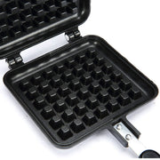 DIY Waffle Baking Tray Gas Mold Tray Non-stick Cookie Cooking Pastry Tools Flipping Portable Handheld Baking Mold Dropshipping