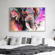 DUOYISHANG 5D DIY Diamond Elephant Full Square Diamond Embroidery Rhinestones Mosaic Sale Animal Paintings Needlework Decor Home