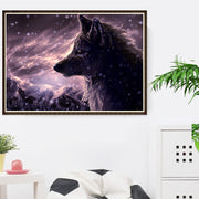 DUOYISHANG 5D DIY Diamond Painting Animals Wolves Full Square Diamond Embroidery Mosaic Wolf Pictures Of Rhinestones Home Decor
