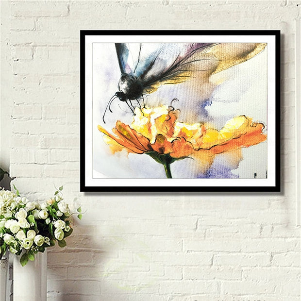 DUOYISHANG 5D DIY Diamond Painting Butterflies Full Square Diamond Embroidery Sale Mosaic Crystals Paintings Home Decoration