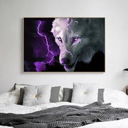 DUOYISHANG 5D DIY Diamond Painting Fantasy Wolf Full Square Diamond Embroidery Cross Stitch Mosaic Rhinestones Animal Picture