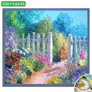 DUOYISHANG 5D DIY Diamond Painting Flowers Full Square Diamond Embroidery Sale Mosaic Rhinestones Plant Paintings Accessories