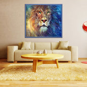 DUOYISHANG 5D DIY Lion Head Diamond Painting Full Square Embroidery With Diamonds Mosaic Animals Picture Rhinestones Home Decor
