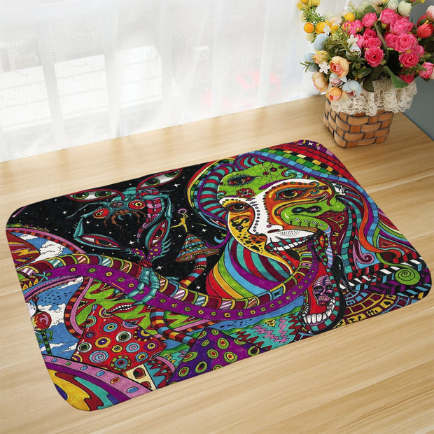 Dazzle Sun Bathroom Decor 2019 Bird Room Soft Door Mat Coffee Table Carpets 60x90cm Decoration Carpet Rugs For New Bedroom