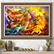 Diamond Embroidery Landscapes DIY 5d Dimond Painting Beading Embroidery Kits Mosaic Drawings Coloring By Numbers