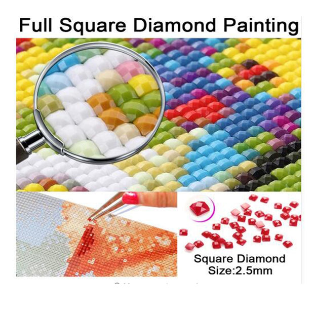 Diamond Painting 5D DIY Embroidery Square Drill The Owl Gift Decoration Arts Crafts&Sewing Needlework Cross Stitch Crpsen