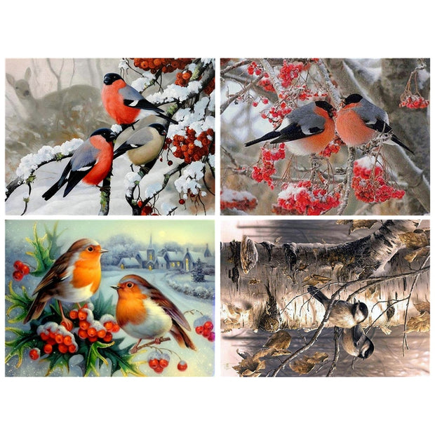 Diamond Painting Diamond Embroidery 5d Diy Full Square Animals Bird - Diamond Mosaic Daimond Painting Diamond Paint