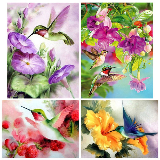 Diamond Painting Diamond Embroidery 5d Diy Full Square Animals Bird - Diamond Mosaic Diamant Painting New Arrivals