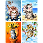 Diamond Painting Diamond Embroidery 5d Diy Full Square Animals Cat - Diamond Mosaic Diamant Painting New Arrivals