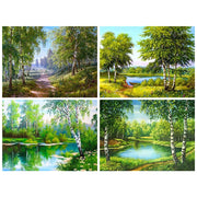 Diamond Painting Diamond Embroidery 5d Diy Full Square Nature - Diamond Mosaic Daimond Painting Drill