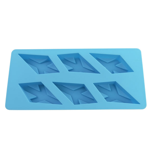 Diamond Snowflake Silicone Cake Mold Muffin Chocolate Cookie Baking Mould Decor New Arrived #30181212