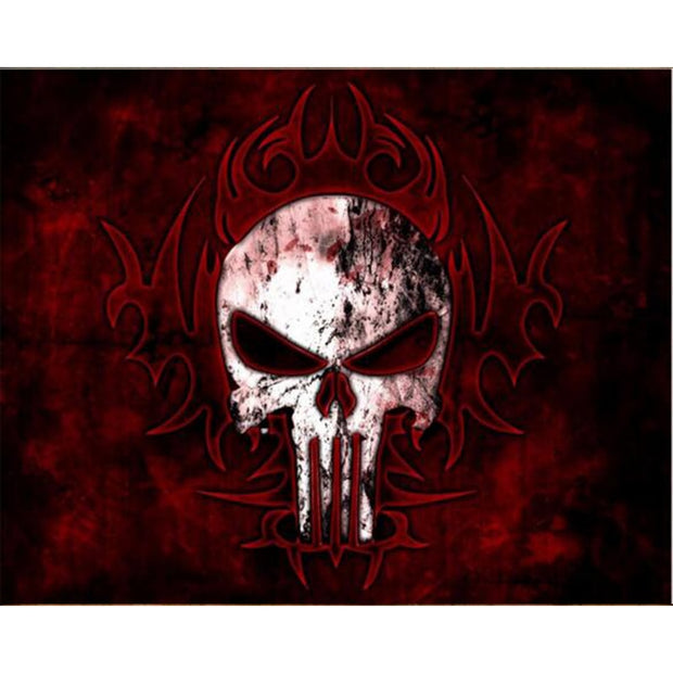 Diy Diamond Paintings Cross-stitch Skull Halloween Diamond Pattern Beadwork Pictures Needlework Decorations For Home RS63